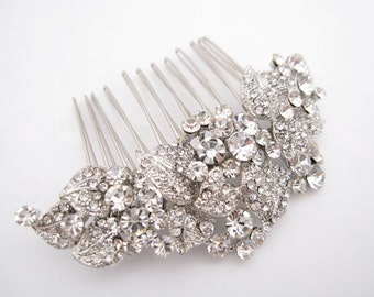 Wedding hair comb, bridal hair accessories, wedding rhinestone hair comb, bridal hair comb crystal ,wedding headpieces,wedding comb,bridal