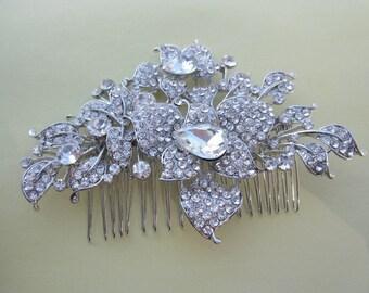 Wedding hair comb wedding headpiece wedding hair accessories wedding hair piece wedding hair clip wedding hair jewelry bridal hair comb