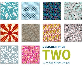 Origami Paper 100 sheets Designer Pattern Gift Pack (Set two)