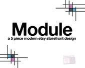 Module, 5 Piece Etsy Shop Set Pre-Made