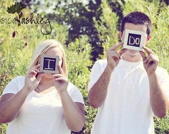 Chalkboard  - Shabby Wedding Decor - MINI Wedding Sign Chalk Board