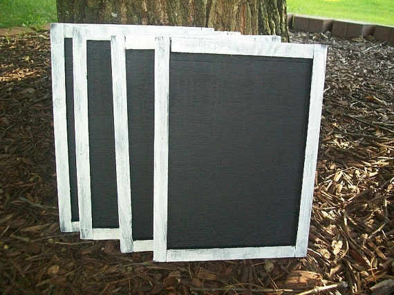 Custom Order for Latoya Chalkboard  - Shabby Wedding Decor - Wedding Sign Chalk Board