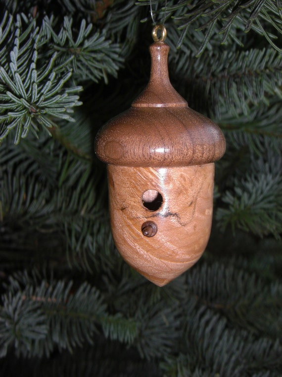 Acorn Birdhouse Ornament