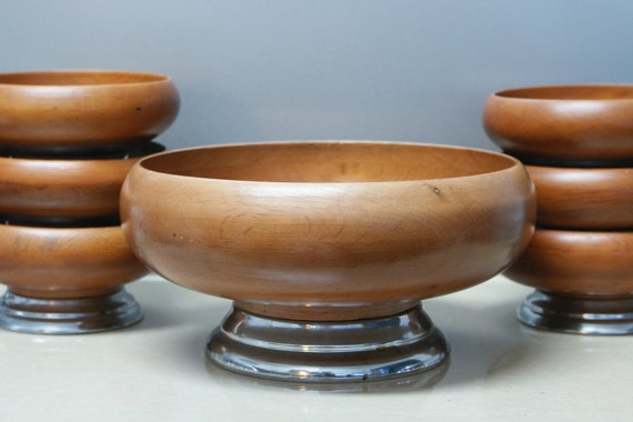 Wooden Bowls Seven Piece Set