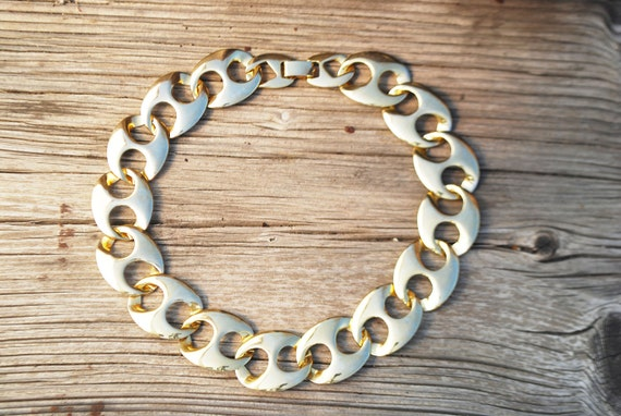 1980s- Gold Link Necklace