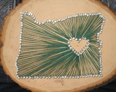 Oregon State Love String Art