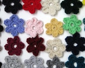 Easy Peasy Crochet Flower Pattern- Simple 6 Petal Flower- PDF Tutorial