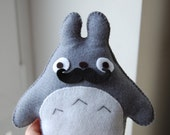 Moustache Totoro