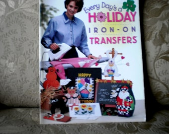 Holiday Iron On Transfers Book