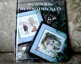 Seasons Remembered Cross Stitch Book