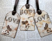 Love and Hope (set of 5 tags)