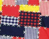 Cheater Quilt Cotton Print  2 yards