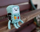 PDF Crochet Amigurumi Pattern for Beemo from Adventure Time