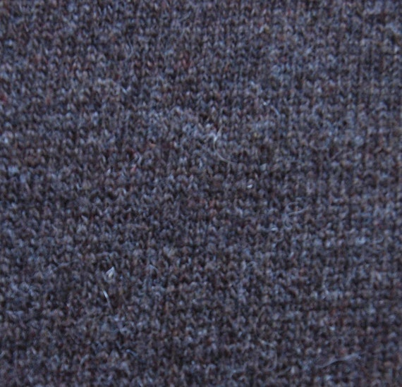 "SWATCH 3"" x 7"" - Sweater Knit Wool Jersey Fabric - Brown F-62-10"