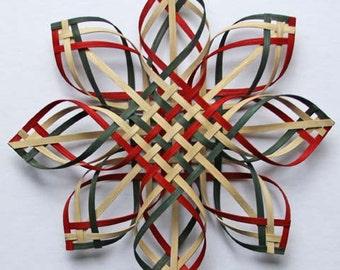 X Lg  w/r/g Carolina Snowflake