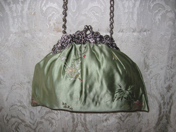 Eclectic Accessory Purse,  One of A Kind Evening Bag - 3370