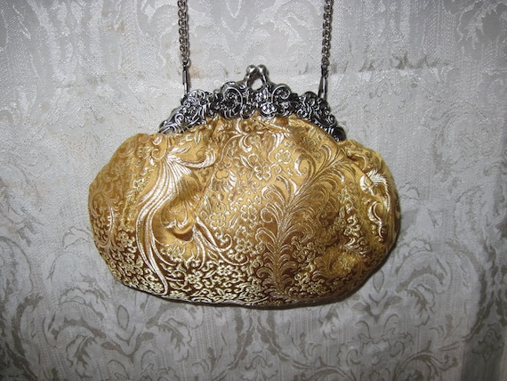 Eclectic Accessory Purse,  One of A Kind Evening Bag - 22377