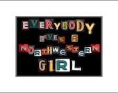 Everybody Loves a Northwestern Girl