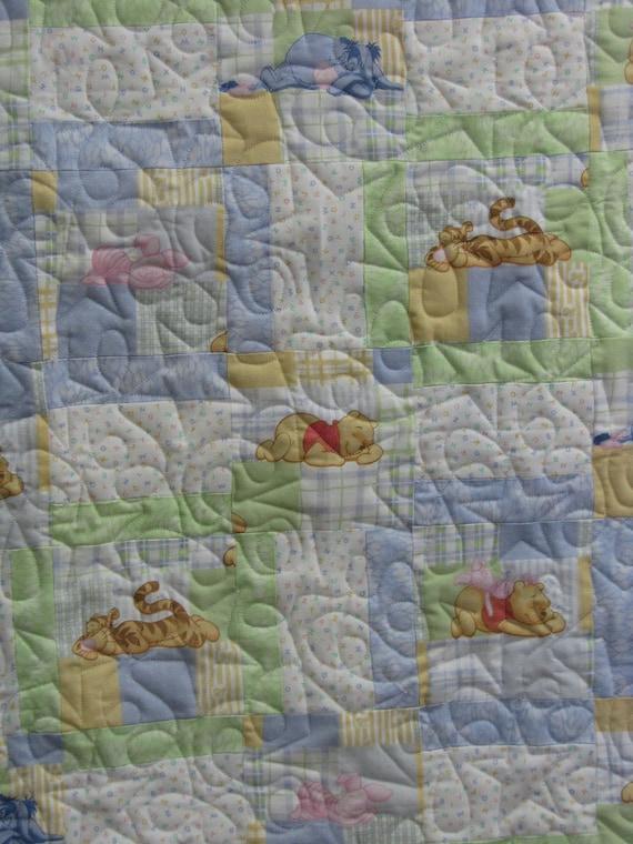 Baby Boy Quilt - Winnie the Pooh