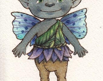 Baby Blue Fairy