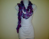 Extra long lace-like Summer Scarf FREE US Shipping