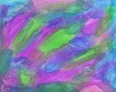 Original Artwork - Stationery - Notecard - Abstract Modern