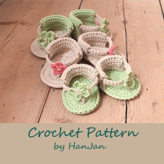 Crochet Dreamz: Trekkers Crochet Pattern, Flip Flop