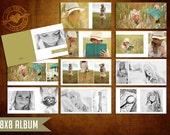 8x8 Mod Album Template for Photographers