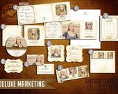 Pre-Made DELUXE Marketing Kit Templates for Photographers (Vintage Charlie Collection)