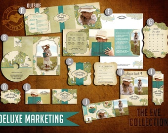 Pre-Made DELUXE Marketing Kit Templates for Photographers (EVE Collection)