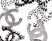 Chanel Links (Print)