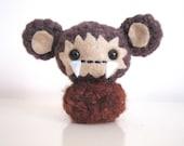 Sasquatch Monkey Amigurumi