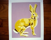 Yellow & Purple Radioactive Rabbit