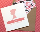 Custom Bridesmaid Invitations for catherinecrowley (Set of 3)