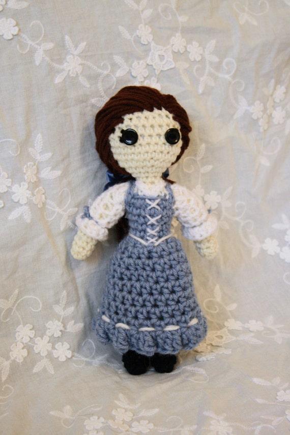Belle Crocheted doll
