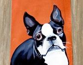 Just Love Me - Boston Terrier/Print