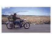 Rohan Motorbike (A4 Print)