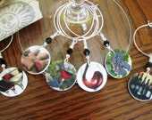 Classic Wine Charms - Set of Six