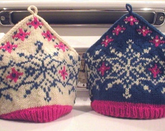 Knitting Pattern-Spouted Beehive Tea Cozy knit tea cozy