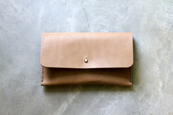 Hand Pouch - Leather Hand Stitched Custom