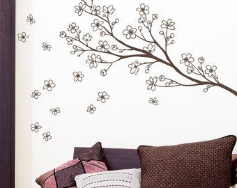 Yamanaka - Branch wall decal - brown
