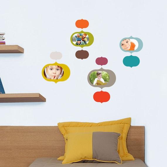 Prague - original and colorful wall sticker frames