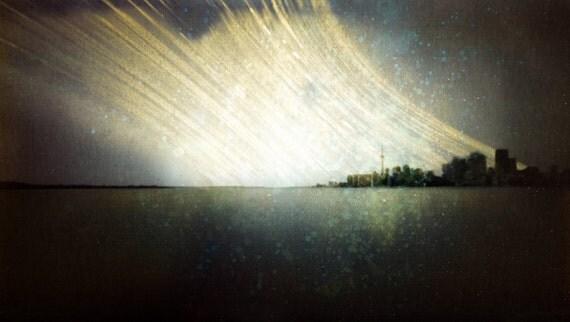 Year-Long Photograph of Toronto Skyline