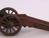 Replica 1700 Swedish Field Gun Vintage Wood Metal 1700s Swedish Cannon Model