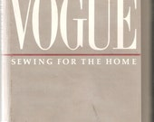 Vogue Sewing for the Home, First Edition, Copyright 1986
