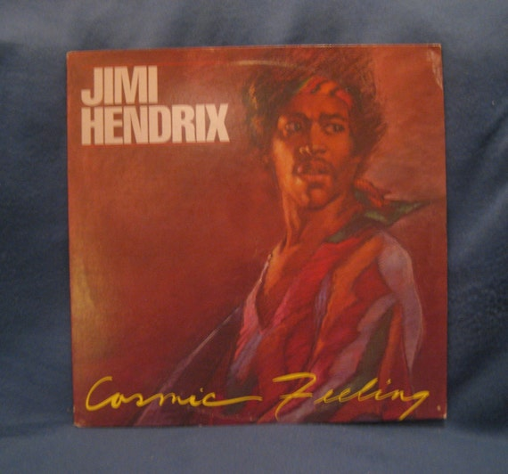 Rare Vintage Jimi Hendrix Cosmic Feeling