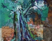 Centennial roots - ORIGINAL painting -