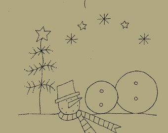 Some assembling required, Snowman. E-PATTERN