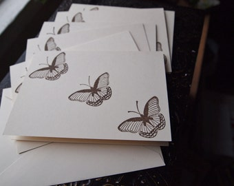 Note Cards Butterfly