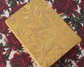 Vintage Gold Brocade Bound Journal